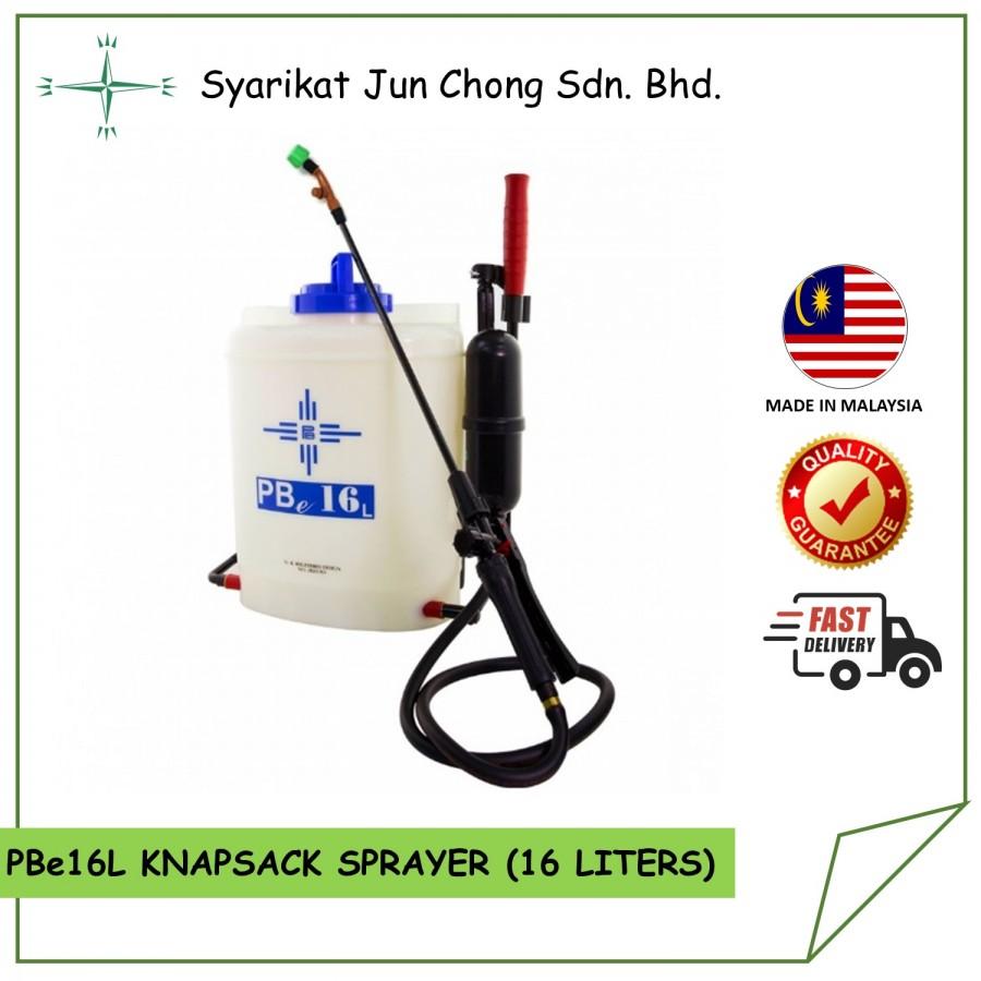 Knapsack Sprayer Manual 16L Model PBe16L Brand by Cross Mark