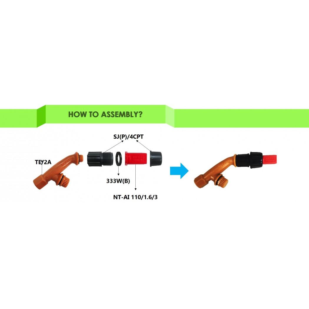 AirMix Non-Drift Fan Nozzle Tip