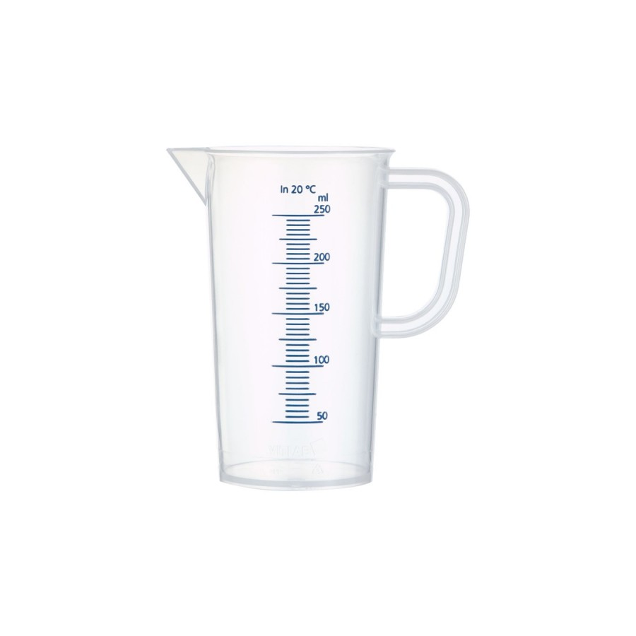 Blue Graduation PP Measuring Jug from Germany