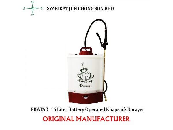 Battery Operated Electric Power Knapsack Sprayer EKATAK 16L