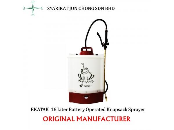 Battery Operated Electric Power Knapsack Sprayer EKATAK 16L