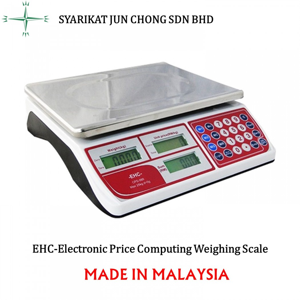 EHC-Electronic Price Computing Weighing Scale CPS-888
