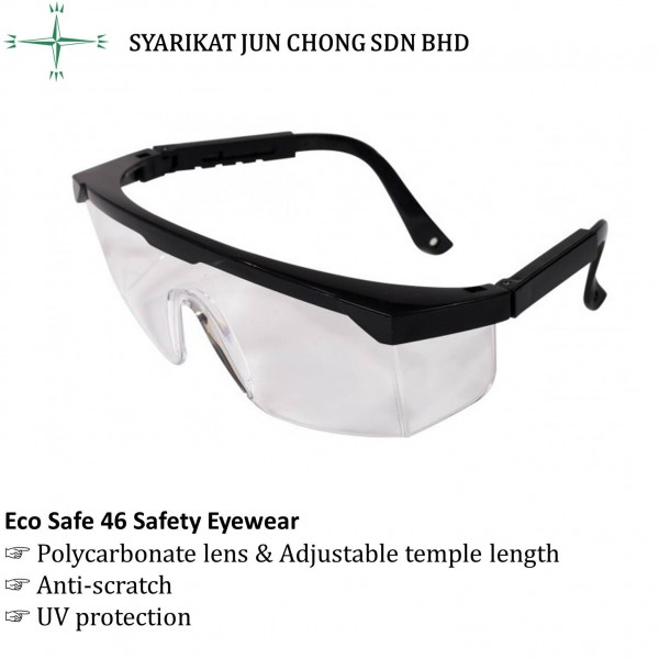 Eco Safe 46 Safety Eyewear