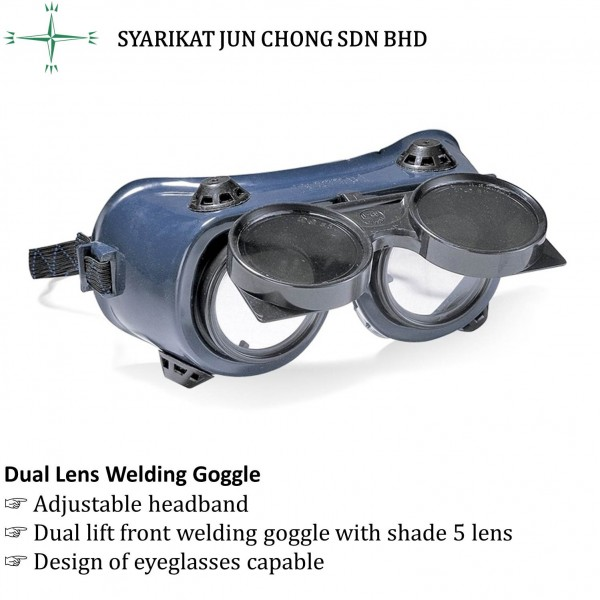 Dual Lens Welding Goggle PG-WG225