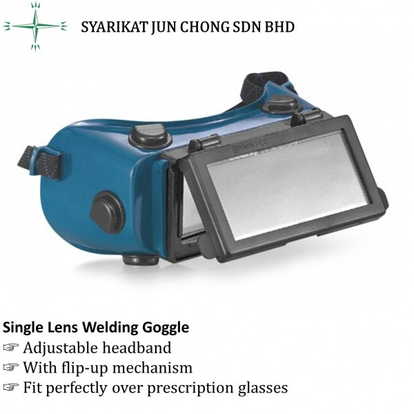 Single Lens Welding Goggle