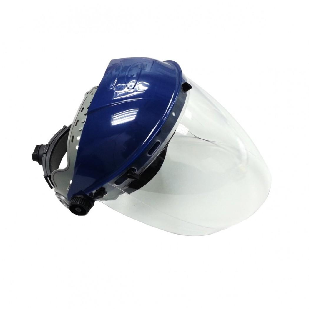3M Ratchet Headgear with Clear Visor