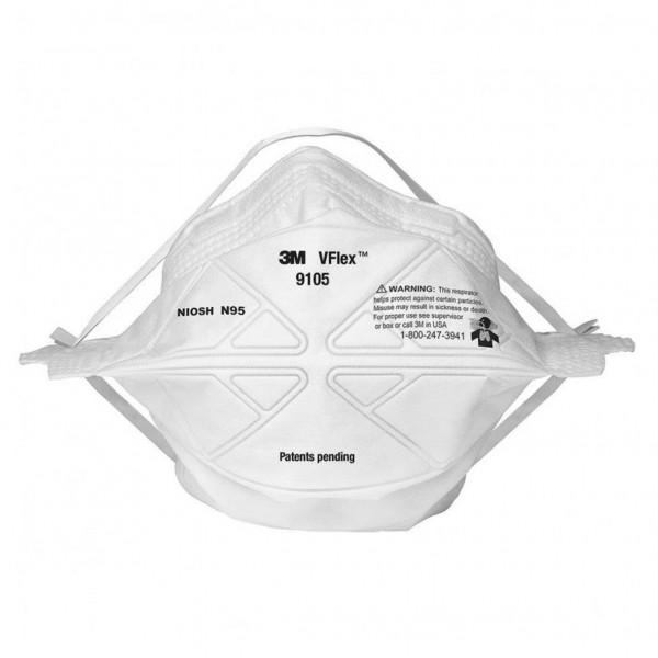 3M VFlex Folded Particulate Respirators 9105