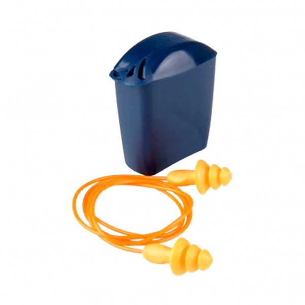 3M Reusable Ear Plugs with Storage Case (NRR 24dB)