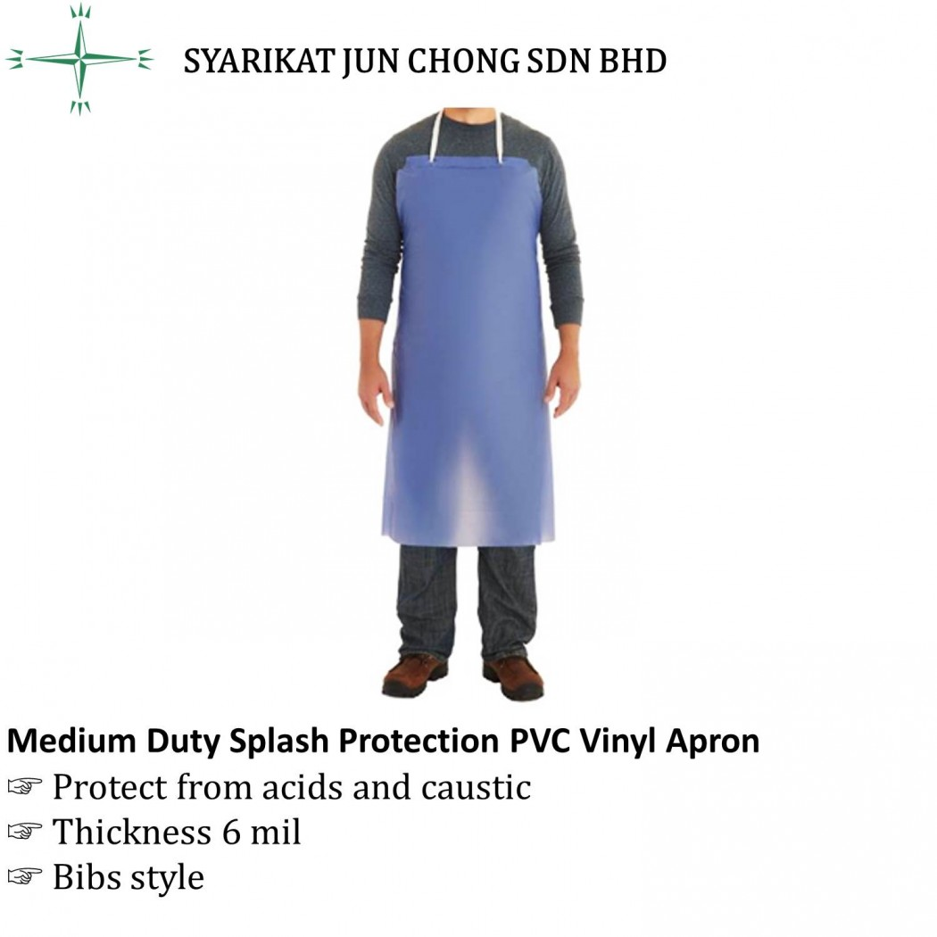 Medium Duty Splash Protection PVC Vinyl Apron ATEM APV-45B