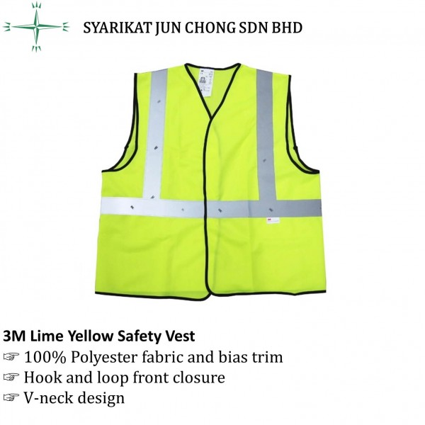 3M Lime Yellow Safety Vest