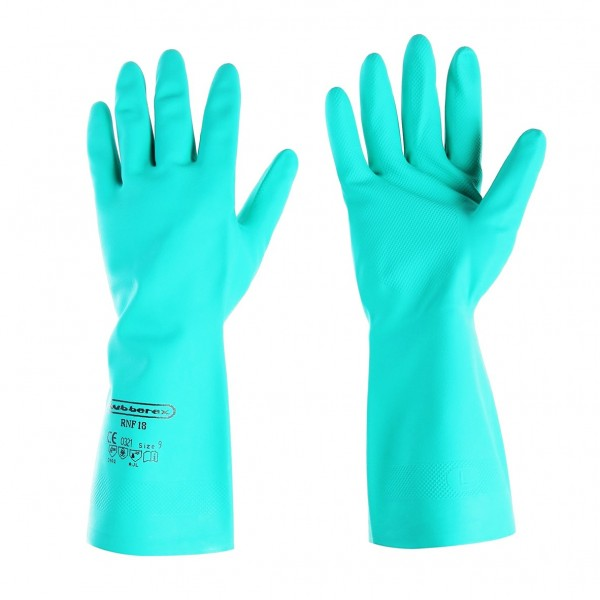 Rubberex Green Super Nitrile Glove RNF18