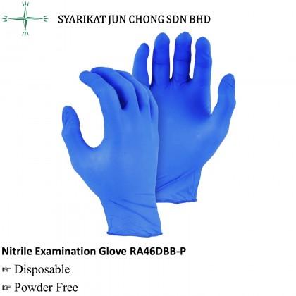 Disposable Powder Free Nitrile Examination Glove
