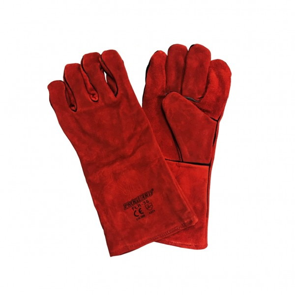 Full Leather Welding Gloves with Lining