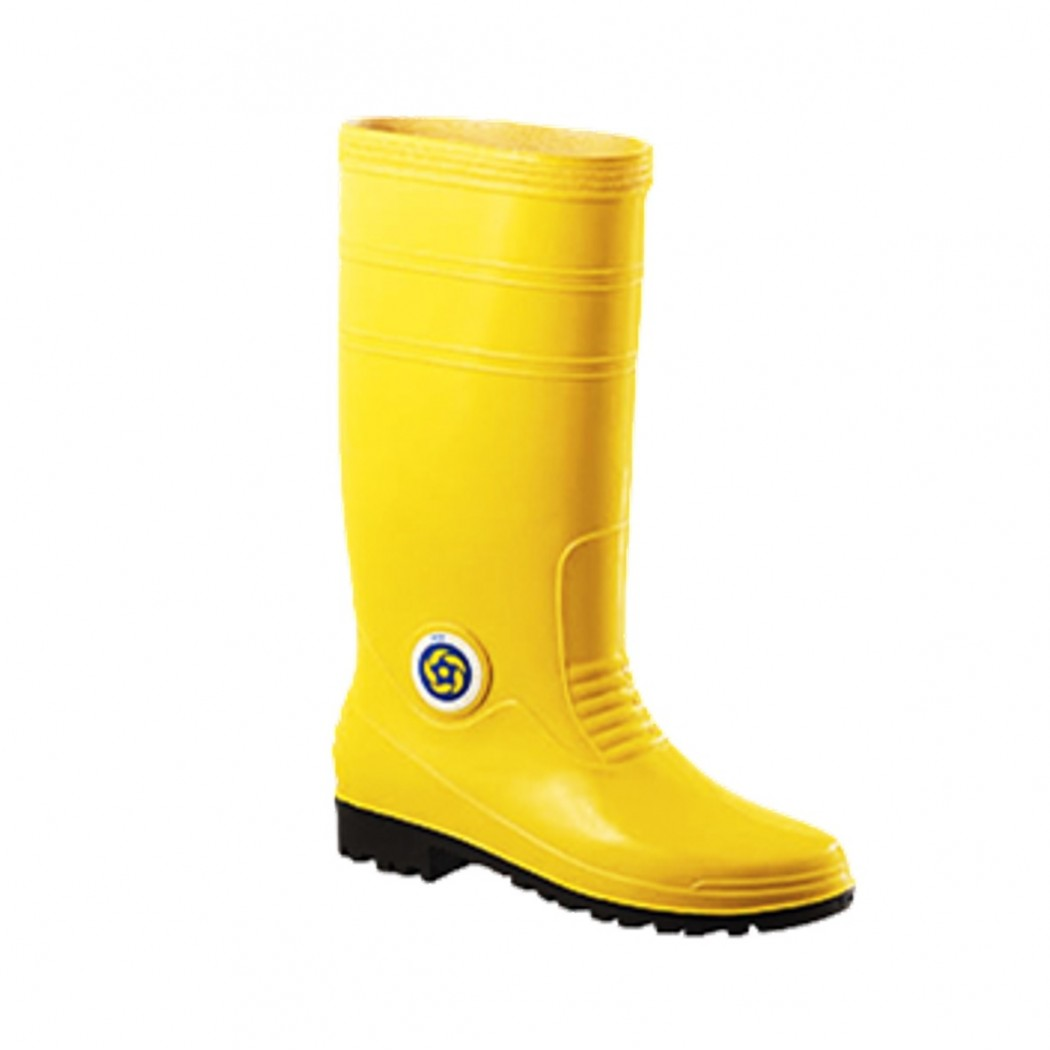 Korakoh PVC Safety Boots 7000 (Yellow)