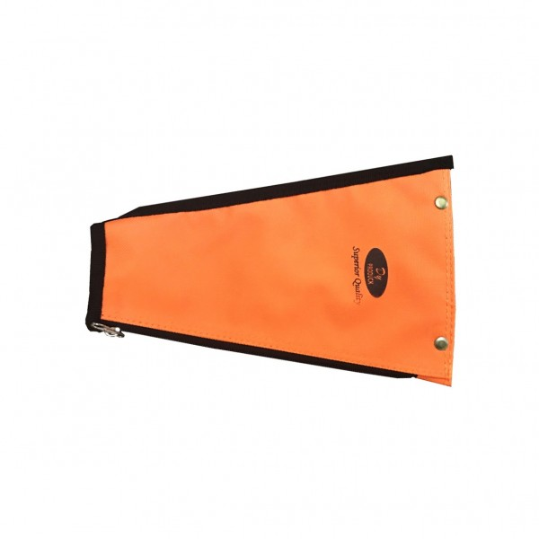 Orange Polystyrene Chisel Cover