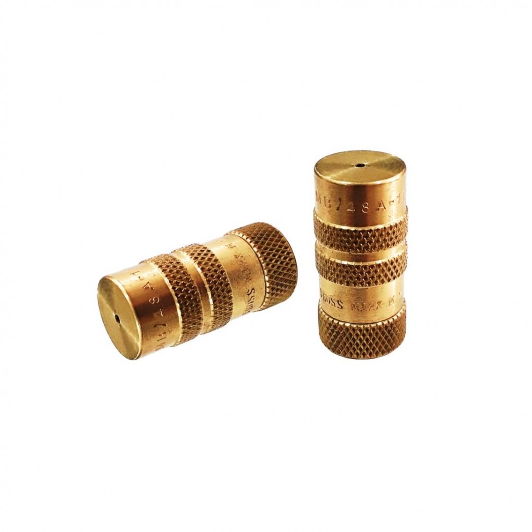 Cross Mark Brass Adjustable Hollow Cone Nozzle