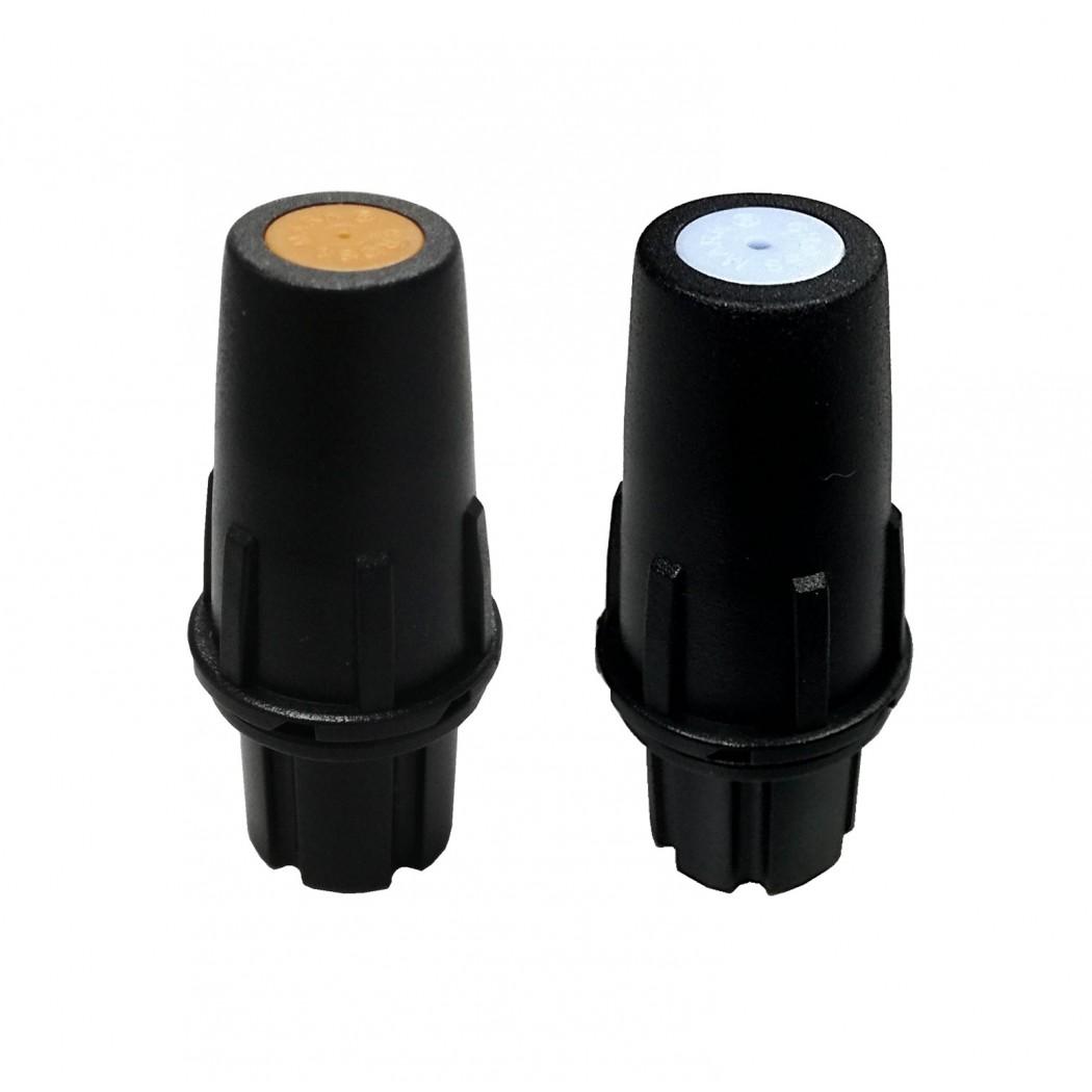 Cross Mark Long Distance Spray Plastic Adjustable Hollow Cone Nozzle MB/48A(P)