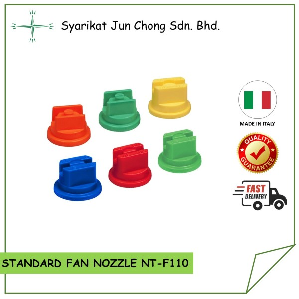Standard Fan Nozzle Tips for Agriculture Spraying NT-F110