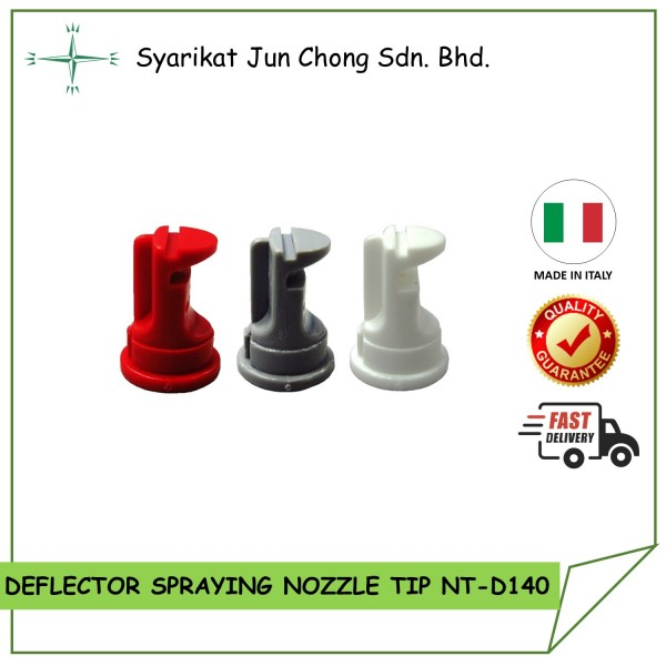 Deflector 140° Nozzle Tips made from Italy