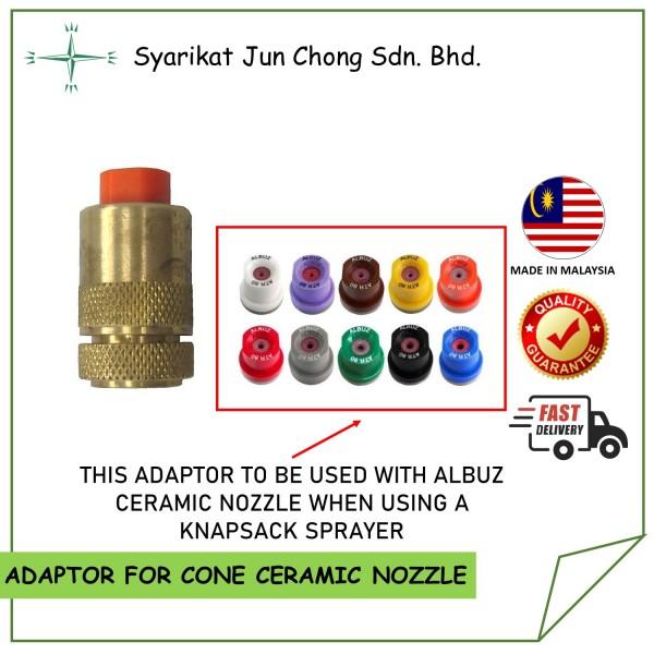 Brass Adaptor for Hollow Cone Ceramic Nozzle Tips