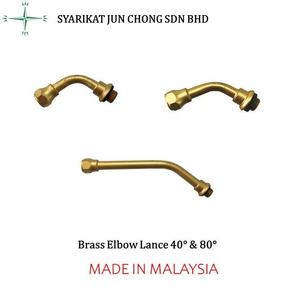 Brass Elbow Lance
