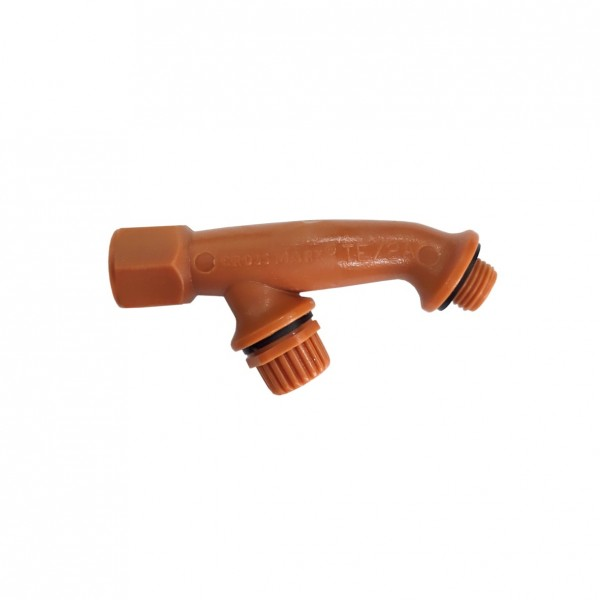 Plastic Twin Elbow Lance