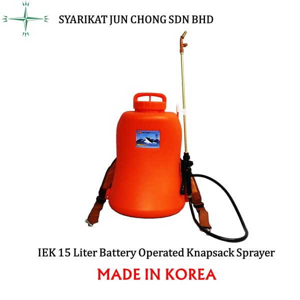Battery Knapsack Sprayer 15L Perfect Rechargeable Lithium-ion