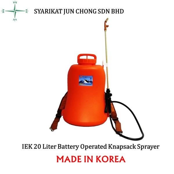 Battery Knapsack Sprayer 20L Perfect Rechargeable Lithium-ion