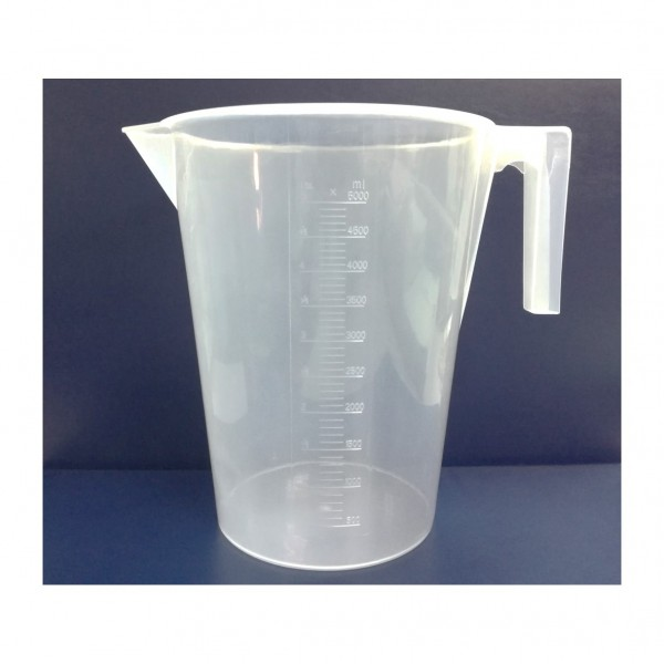 P.P Measuring Jug Made in Malaysia 5000ml