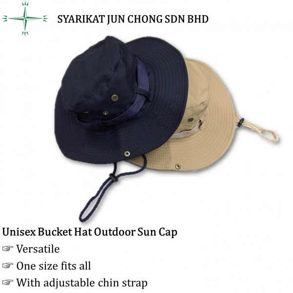 Unisex Bucket Hat Outdoor Sun Cap