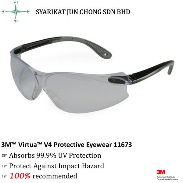 3M™ 11673 Virtua™ V4 Protective Eyewear, Gray Anti-Fog Lens