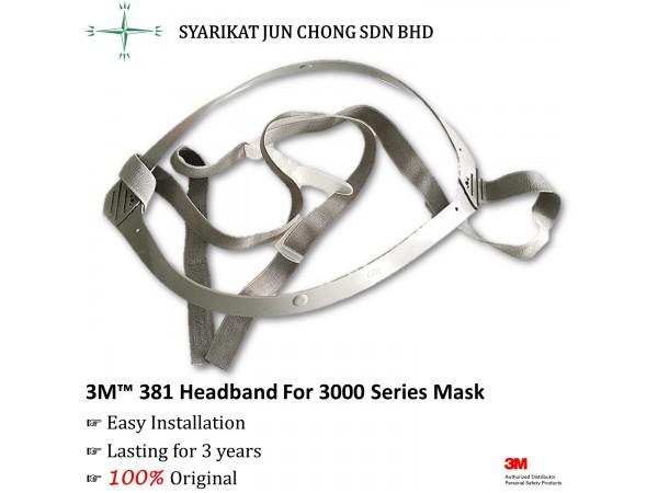 3M™ 381 Headband For 3200 Series Half Facepiece Mask