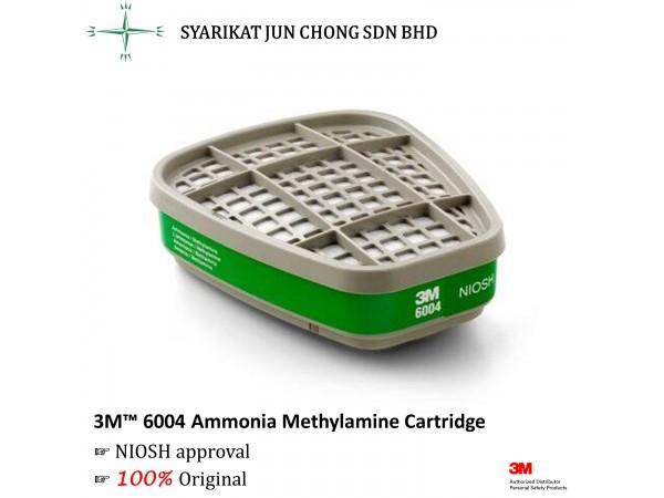 3M™ 6004 Ammonia Methylamine Cartridge