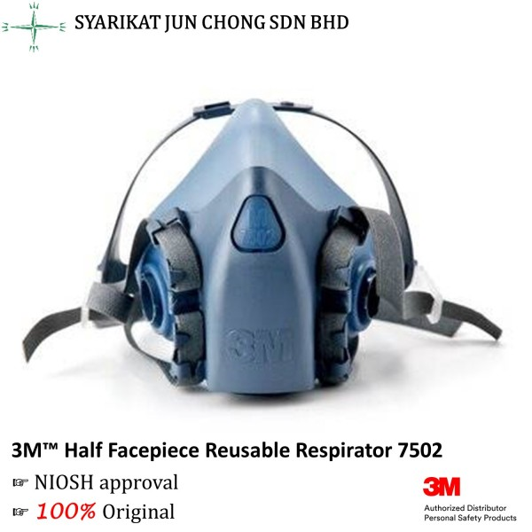 3M™ 7502 Half Facepiece Reusable Respirator