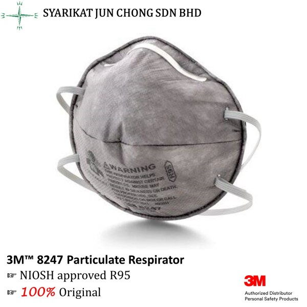 3M™ 8247 Particulate Respirator