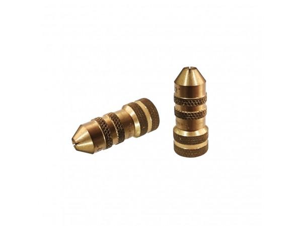 PB Brass Adjustable Fan Jet Nozzle (18G Thread)