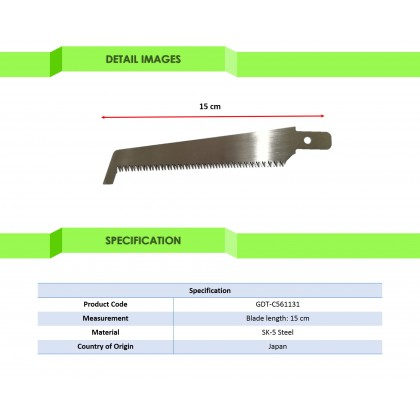 Gold Elephant Seal High Blade Cutting Saw Spare Blade AY-400K (GDT-C561131)