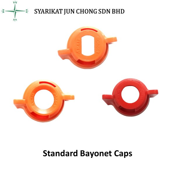 Standard Bayonet Cap (For Fan, Deflector and Hollow Cone Nozzle Tip)