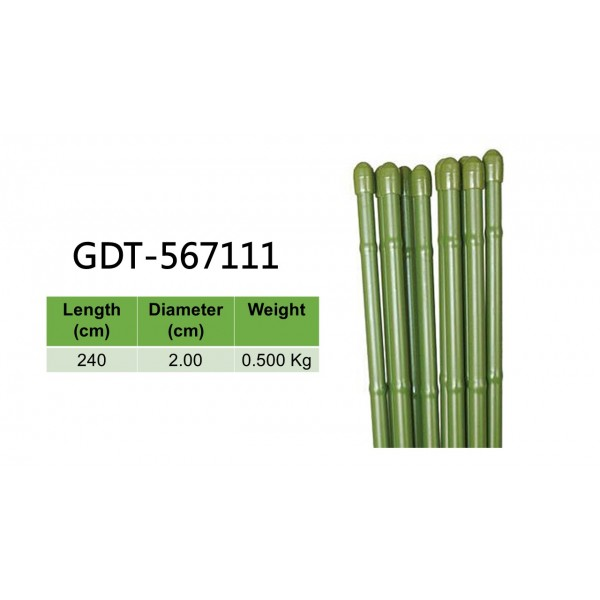Bamboo Stakes | 240cm Length, Diameter 2.00cm