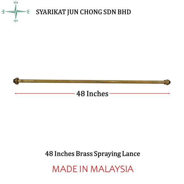 "48"" Brass Spraying Lance"